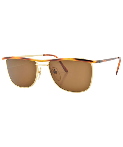 kansas gold brown sunglasses