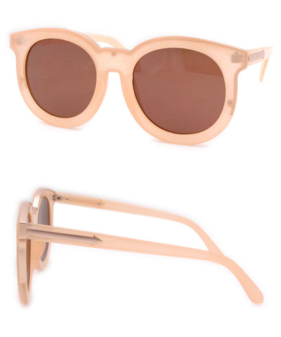 keaton peach sunglasses