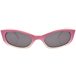 kevin pink white sunglasses
