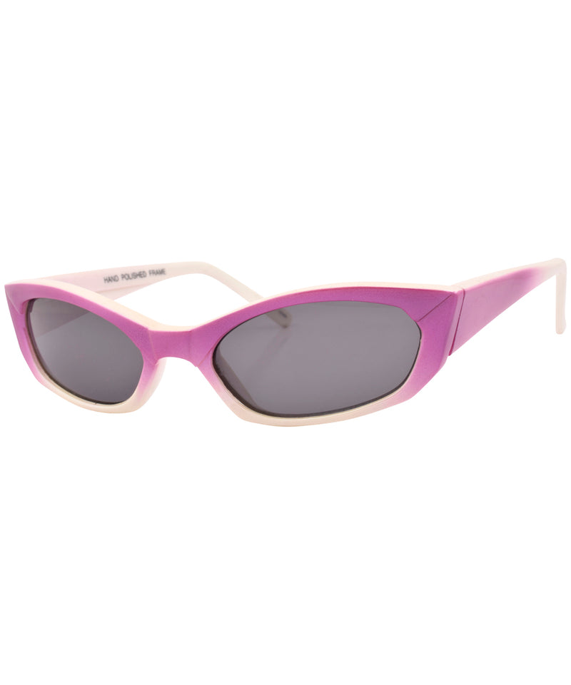 kevin purple sunglasses
