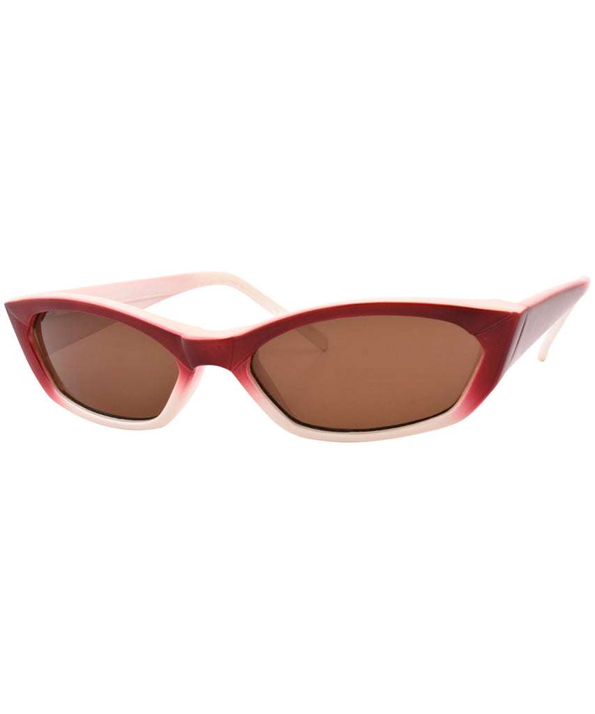 kevin red sunglasses