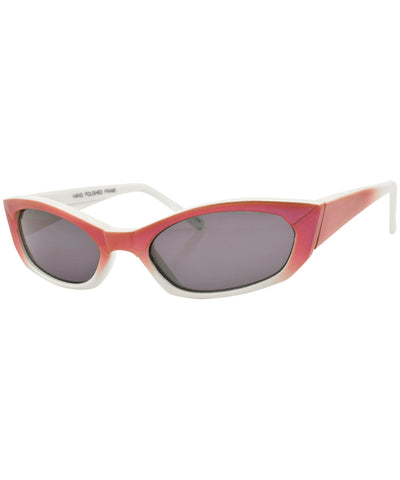 kevin red white sunglasses