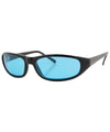 keytar black blue sunglasses