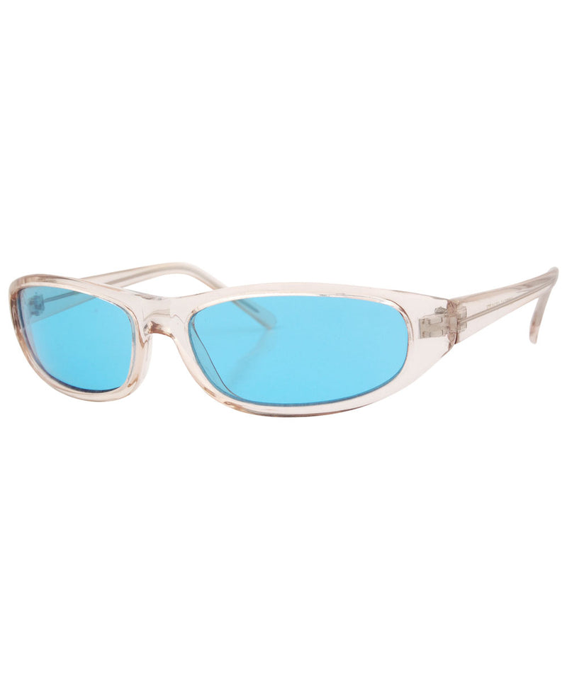 keytar crystal blue sunglasses