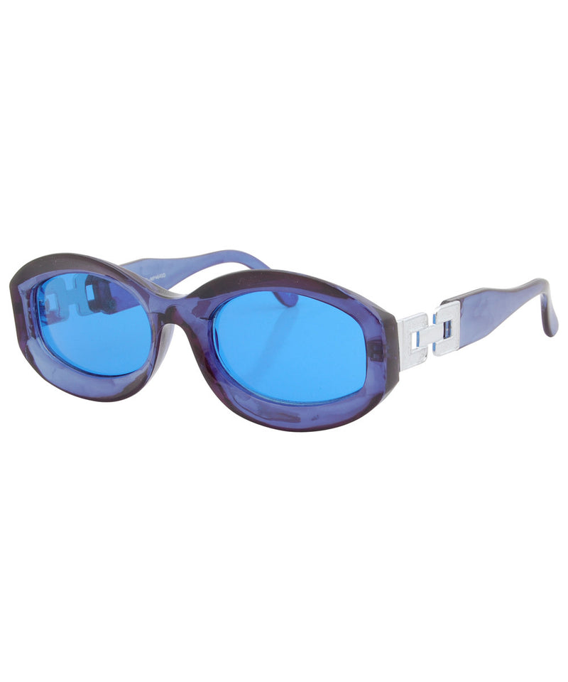 kika blue sunglasses