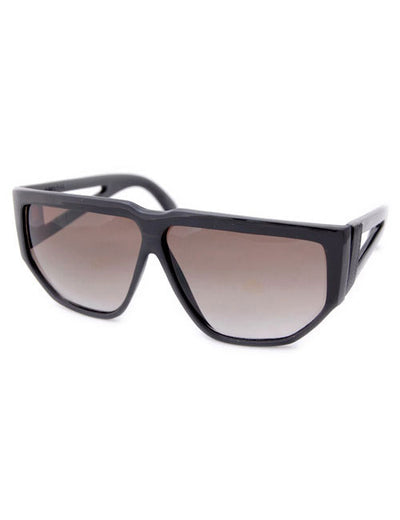 kim jong black sunglasses