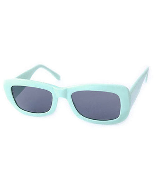 kitten blue sunglasses