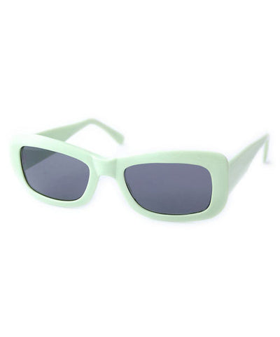 kitten green sunglasses