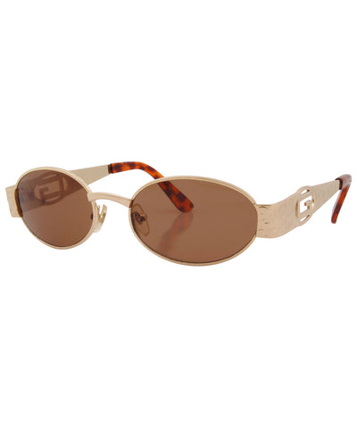 kline gold amber sunglasses