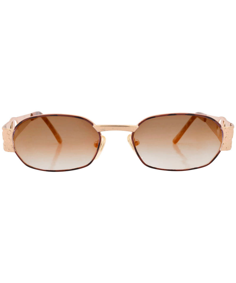 knockers demi brown sunglasses