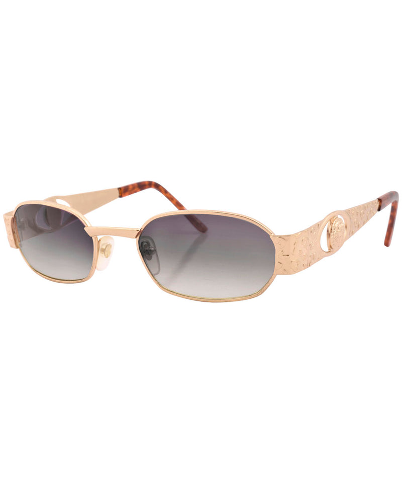 knockers gold smoke sunglasses