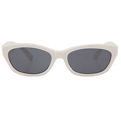 kurl white sunglasses