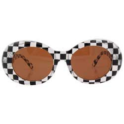 kurt crystal checkers sunglasses