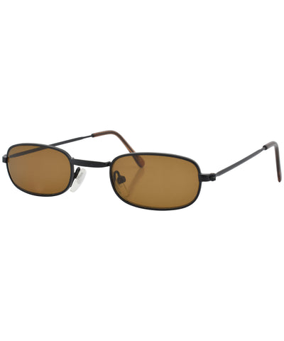 laddy brown black sunglasses