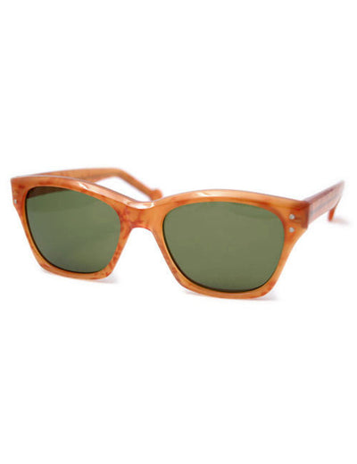 lana amber green sunglasses