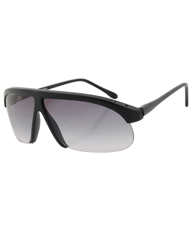 la cava gloss black sunglasses