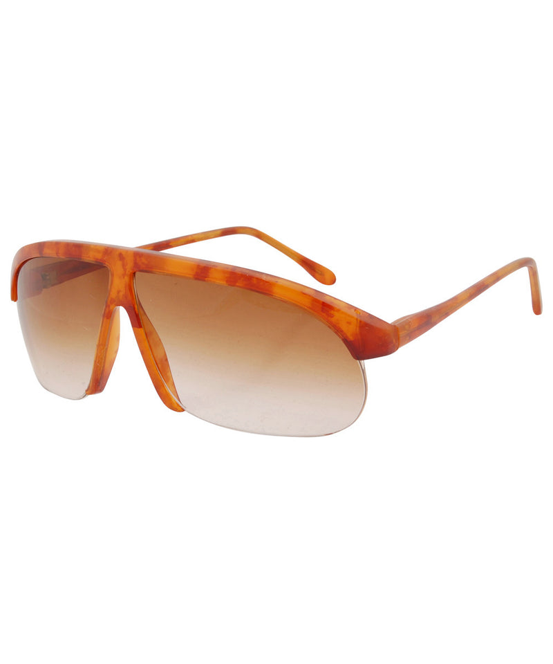 la cava gloss brown sunglasses