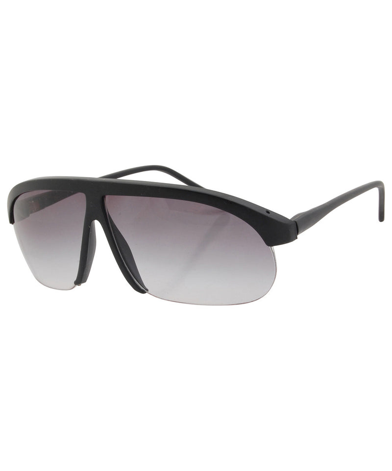 la cava matte black sunglasses