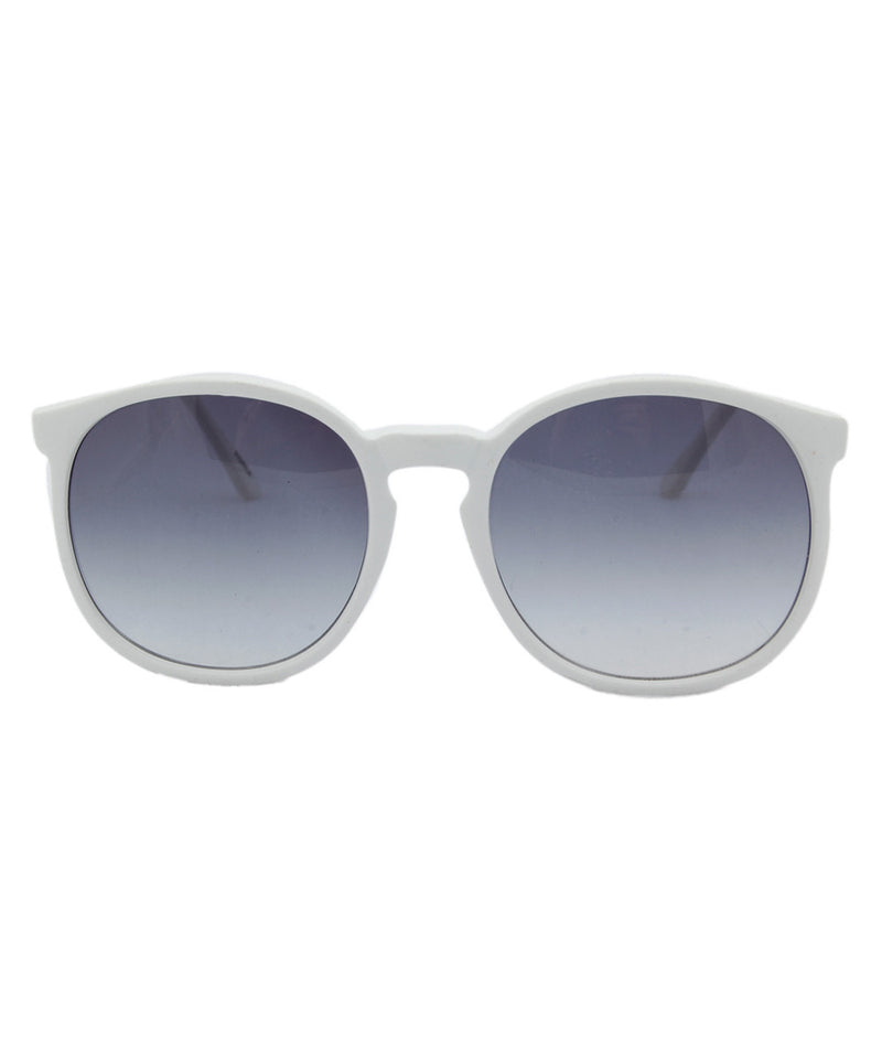 la favorita white sunglasses