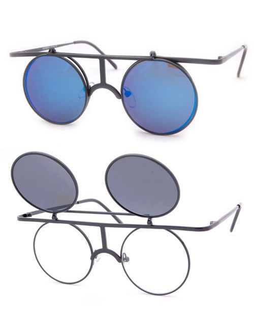 leica black blue sunglasses