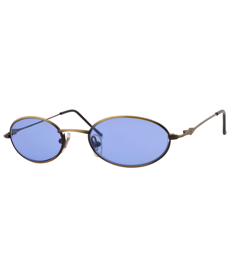 lexicon blue brass sunglasses