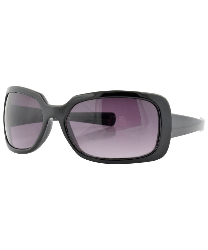 libby black sunglasses
