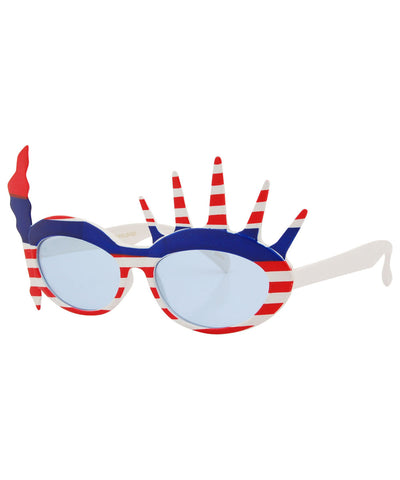 libertae red white blue sunglasses