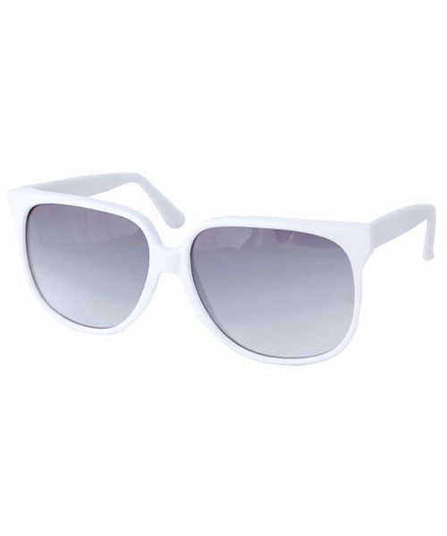 libra white sunglasses