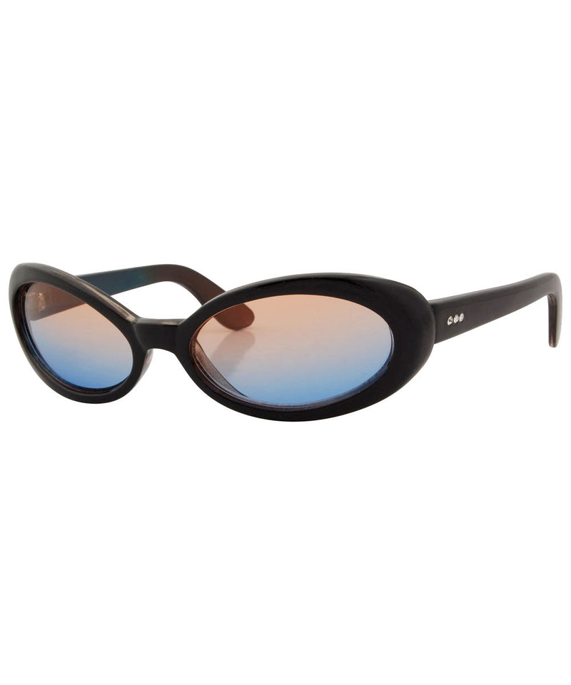 lingo orange blue sunglasses