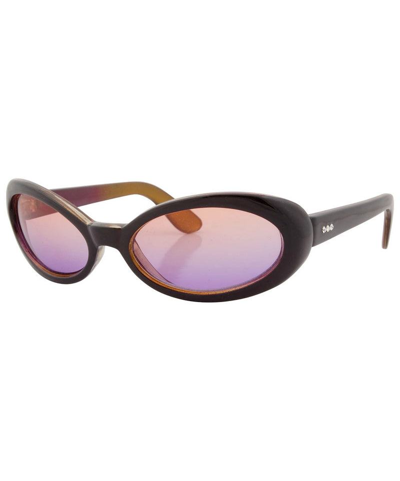 lingo orange pink sunglasses