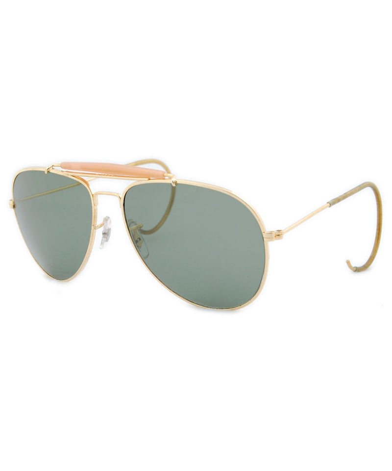 loft gold sunglasses