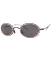 looksee gunmetal crystal sunglasses