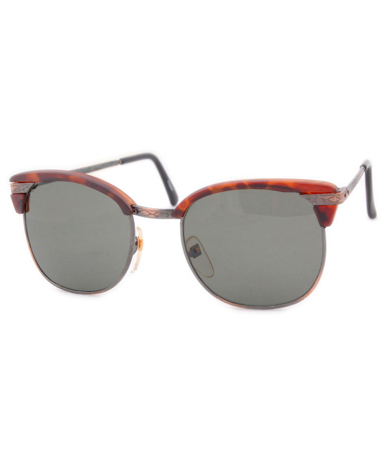 LOUIS Demi/Copper Browline Sunglasses