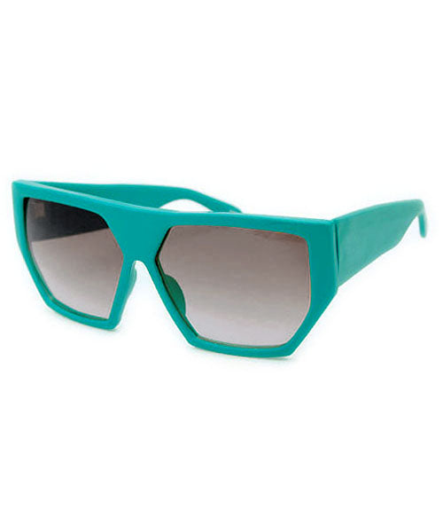 the love teal sunglasses