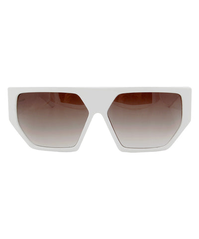 the love white sunglasses