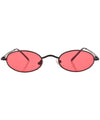 lozenge black pink sunglasses