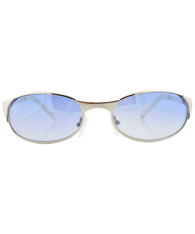luling silver blue sunglasses