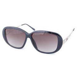 plush black sunglasses