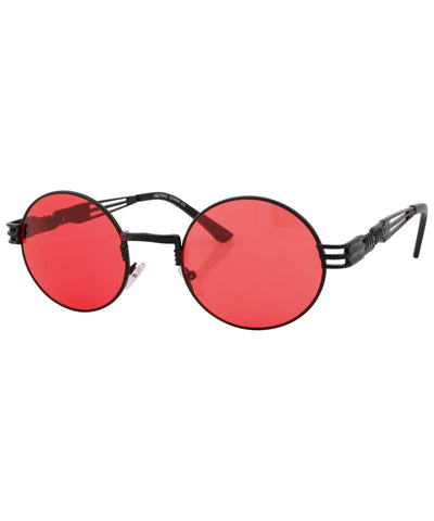 luvah red black sunglasses