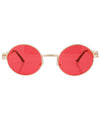 luvah red gold sunglasses