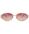 lchaim gold sunglasses
