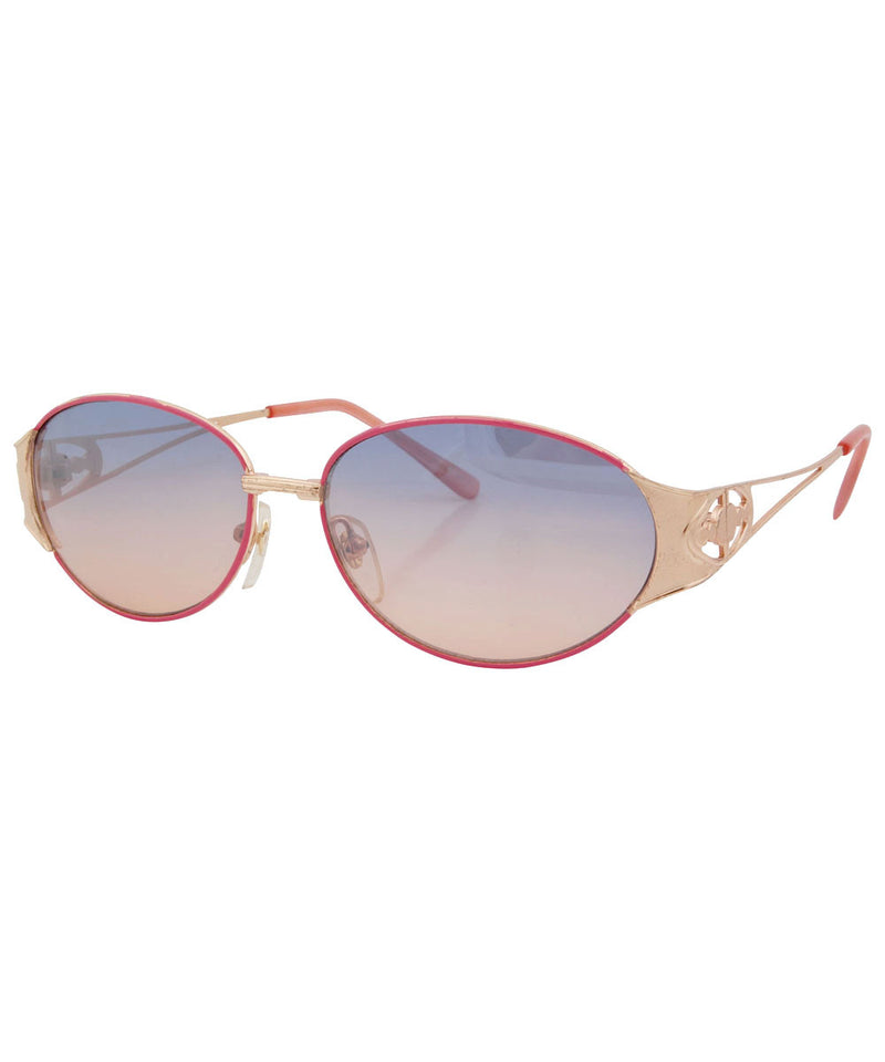 lchaim gold pink sunglasses