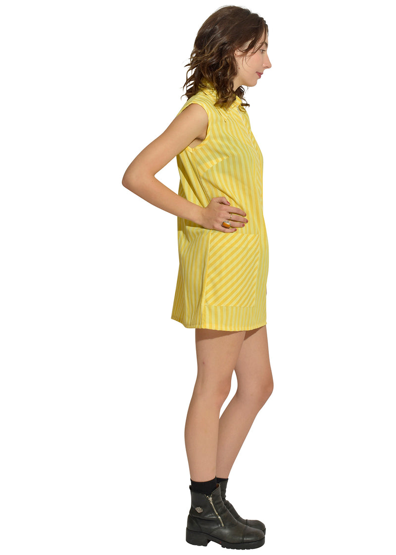 Little Yellow 60's Service Dress