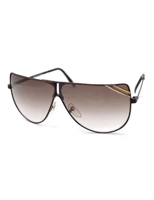 wheeler black gold sunglasses