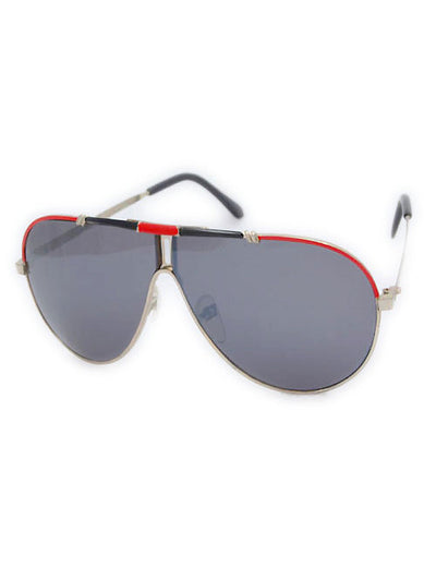 the mark red sunglasses