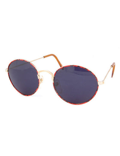 urbana red sunglasses