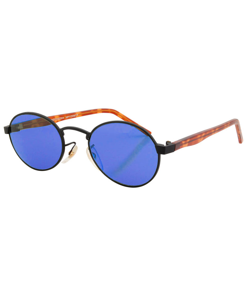 mally blue black sunglasses