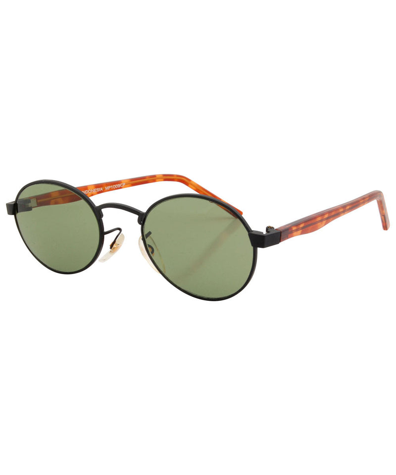 mally green black sunglasses