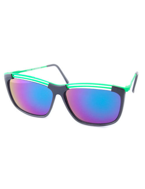 mango green sunglasses