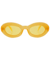 marigold yellow sunglasses